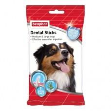 Beaphar DENTAL STICKS M/L 7 PCS 182G /Палочки для чистки зубов для собак, 182 г (арт. DAI13174)