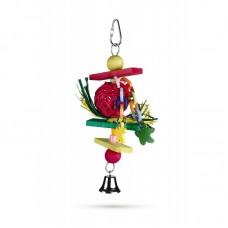 Beeztees Деревянная игрушка д/птиц Trinox 22 см (арт. ВЕТ5547)