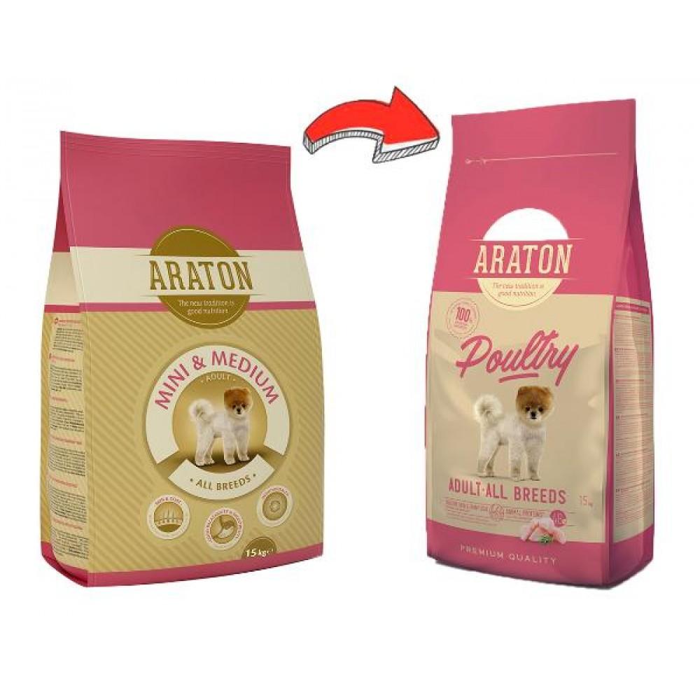 Araton Adult Mini & Medium - корм для взрослых собак мелких и средних пород