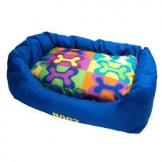 Rogz Лежак для кошек с бортиками и подушкой Spice Podz Pop Art