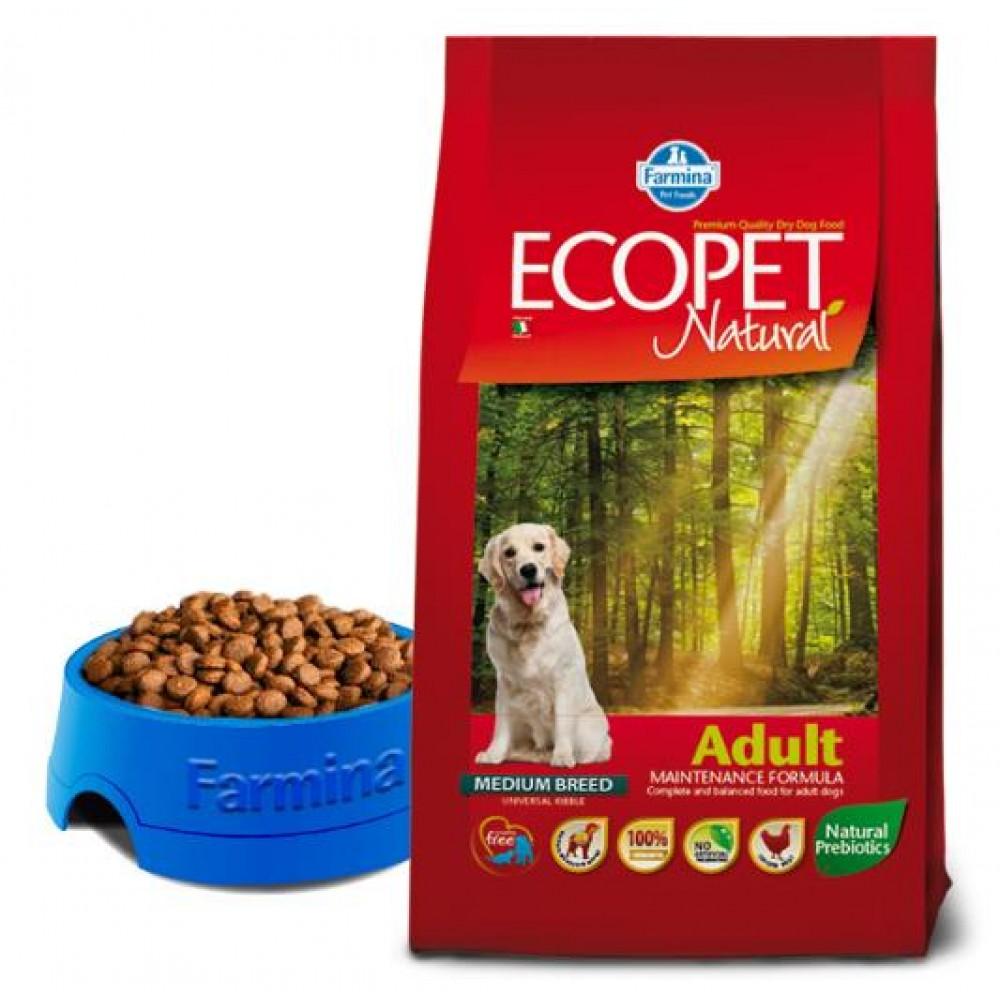 Farmina Ecopet - Корм для взрослых собак всех пород с курицей