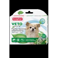 Beaphar Капли отпугив. блох, клещей и комаров для собак мелких пород до 15 кг с 12-и недель (арт. DAI15612)