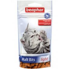 Beaphar Malt Bits light Подушечки для вывода шерсти у кошек, склонных к лишнему весу, 35 г. (арт. DAI11427)
