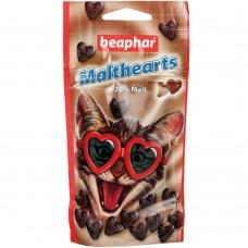 Beaphar Malt Hearts - Лакомство для котов с мальт-пастой, форма сердечки, 150 шт (арт.12930)