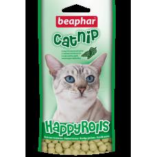 Beaphar CatNip - Лакомство для котов c кошачьей мятой в виде шариков, 80 табл. (арт. DAI10576)
