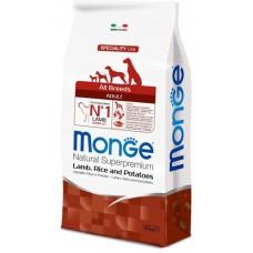 Monge Dog Speciality Lamb/Rice All Breeds - Корм для собак всех пород (ягненок и рис)