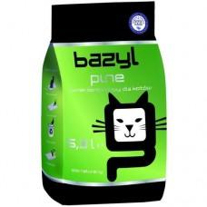 BAZYL Pine наполнитель с ароматом хвои из бентонита для кошачьего туалета комкующийся