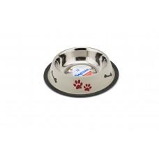 Redplastic Миска металл Дарэлл на резинке, с рисунком, цветная для кошек