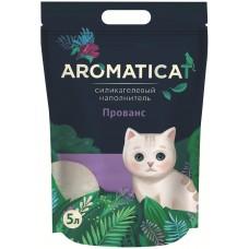 AROMATICAT Прованс - Силикагелевый наполнитель для кошачьего туалета (5 л)