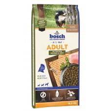 Bosch ADULT птица и просо корм для взрослых собак