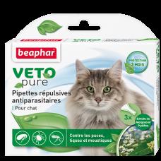 Beaphar Капли. отпугив. блох и комаров, для кошек с 12-и недель (арт. DAI15616)