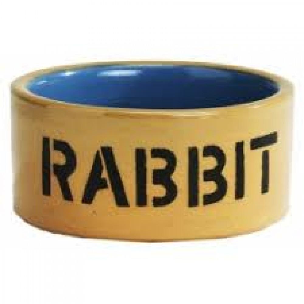 Beeztees Миска д/кроликов керамическая 11,5см (арт. ВЕТ801482)