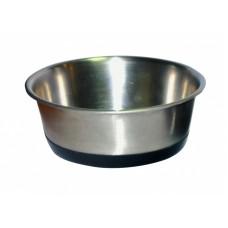 Миска металлическая для кошек For Friends на силиконовой присоске 0,525 л. (арт. TYZ INSSVB 1724)