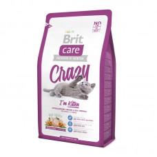 Brit Care Cat Crazy Kitten корм для котят, беременных и кормящих кошек
