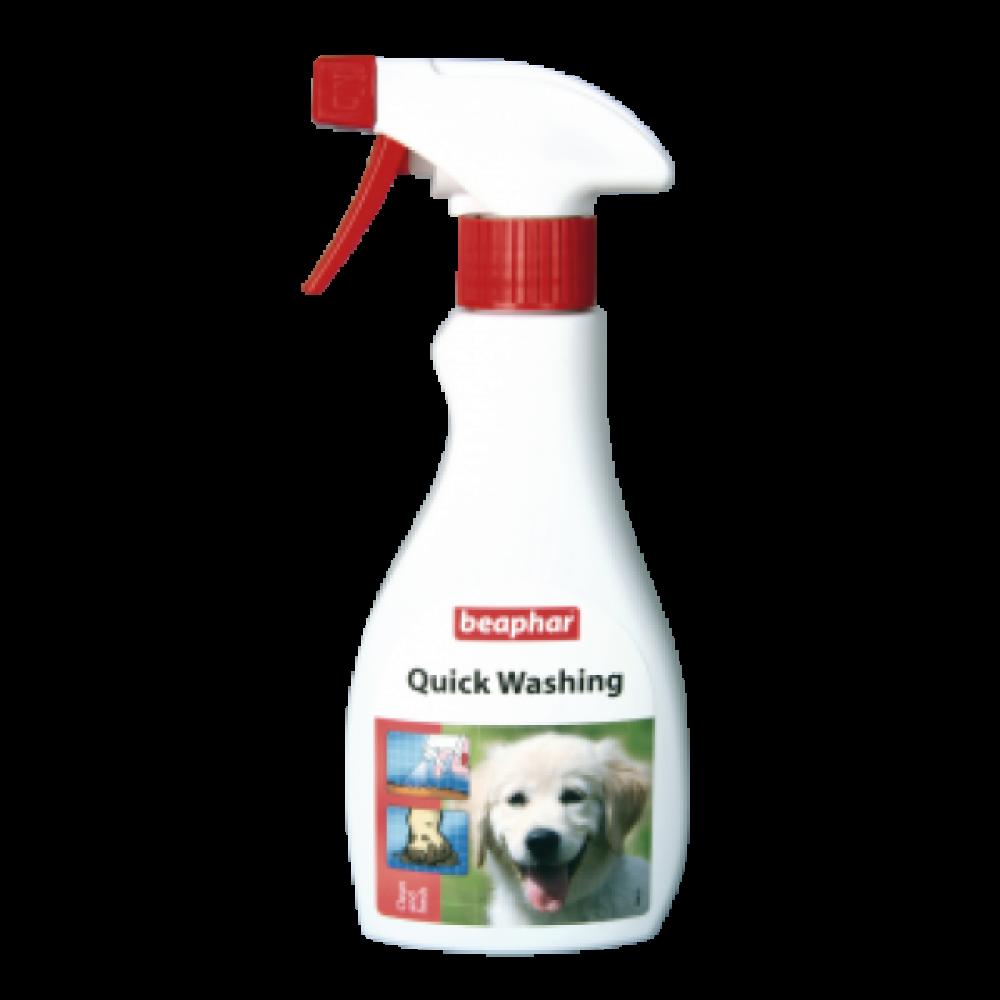 Beaphar Quick Washing 250ml/ Экспресс-шампунь для кошек, 250мл (арт. DAI13999)