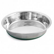 Triol Утяжеленная миска-блюдце GREEN из нержавеющей стали, для кошек, несколько размеров