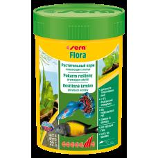 Sera Flora — растительный корм, состоящий из плавающих хлопьев (арт. TYZ 640, 690)
