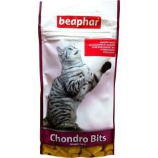 Beaphar CHONDRO BITS - Лакомство в виде подушечек для кошек и собак с хондрозамином, 35 г (арт. DAI11639)