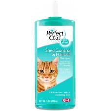 8 in 1 шампунь для кошек PC Shed Control & Hairball - против линьки и колтунов, 295 мл (арт. 1006374)