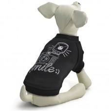 Triol - Толстовка Smile для собак, черная (ТР 12281055, 12281056, 12281057, 12281058)
