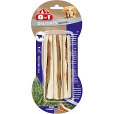 8 in 1 DELIGHTS Beef палочки с говядиной для собак 13 см, 3 шт