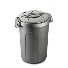 Stefanplast контейнер Jerry для 8 кг корма, серебряный, 37x32x46 см