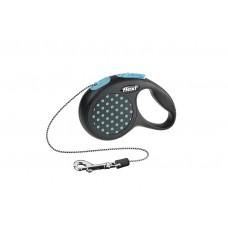 Flexi Рулетка-поводок DESIGN, тросовый, (S) до 12кг/5м, разные цвета