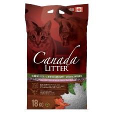 Canada Litter канадский комкующийся наполнитель Запах на замке с ароматом лаванды