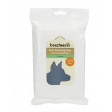 Beeztees Tea tree гигиенические салфетки для шерсти собак с ароматом чайного дерева, 40 шт