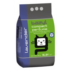 Bazyl Parfume Lavender наполнитель бентонитовый комкующийся для кошачьего туалета