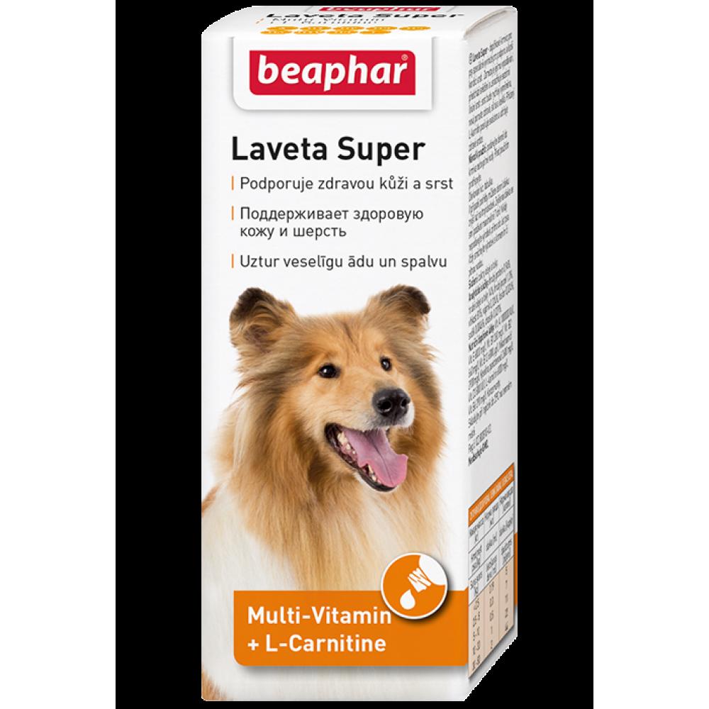 Beaphar Laveta Super Hu - Препарат для шерсти собак, 50 мл (арт. DAI12554)