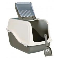MP Bergamo Туалет-бокс с фильтром, дверью и лопаткой ARIEL (57*39*38 см) (арт. TYZ 31.04E)