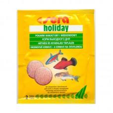SERA holiday — корм для рыб таблетированный «долгоиграющий», 4.8 g, 2 таб. (арт. TYZ 993)