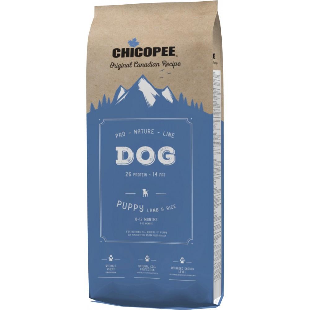 Chicopee PNL Puppy Lamb & Rice - особый корм для щенков всех пород (ягненок, рис)