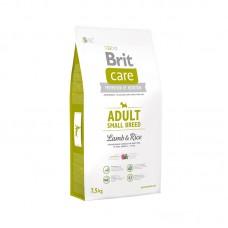 Brit Care Adult Small Breed Lamb & Rice - корм для взрослых собак мелких пород, ягненок с рисом