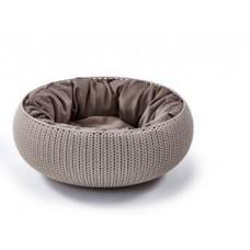 CURVER PETLIFE - Лежак для собак с подушкой Вязанный комфорт, Д 54 x 20,2 см, несколько цветов