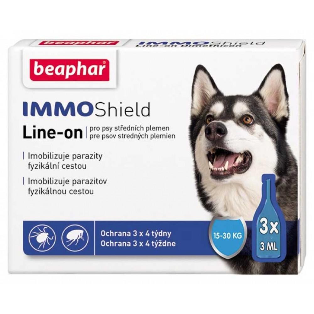 Beaphar IMMO Shield - капли от блох и клещей для собак средних пород 15-30 кг. (арт. DAI13583)