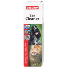 Beaphar Ear-Cleaner - Средство для чистки ушей у котов, 50 мл (арт. DAI12560)