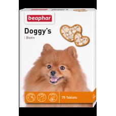 Beaphar Doggy's + Biotine - Кормовая добавка для собак с биотином, 75 табл. (арт. DAI12507)