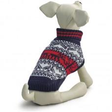 Свитер для собак - Triol Орнамент черно-белый, разных размеров