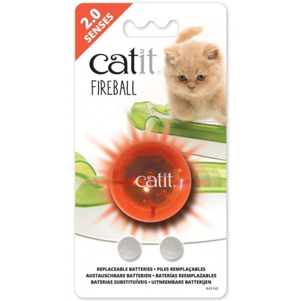 Catit светящийся огненно-красный шарик к игровым дорожкам (арт. 43160W)